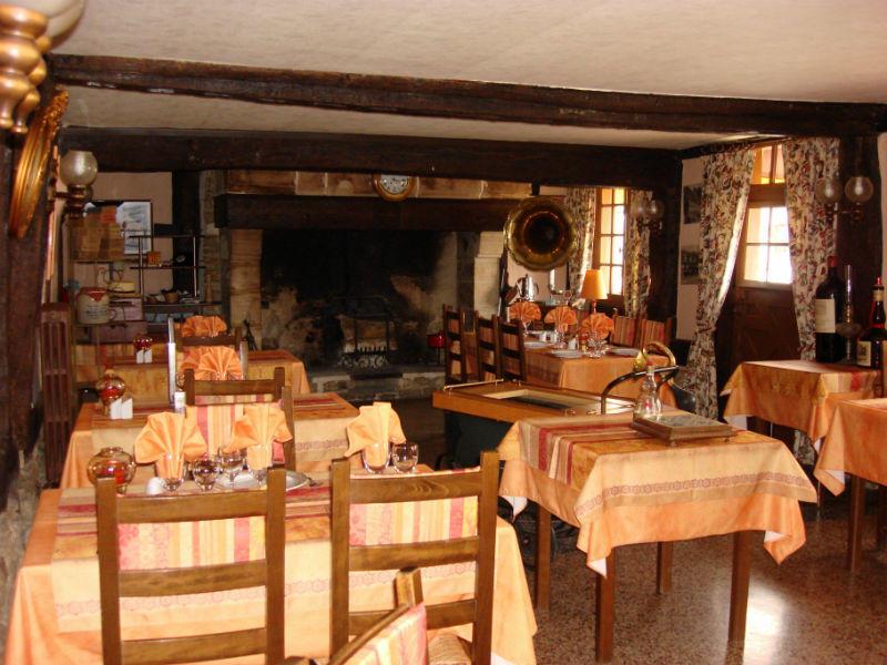 Auberge de la Levrette salle restaurant
