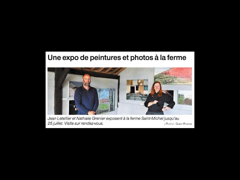 Expo Peintures et photos à la ferme - Cambremer tourin