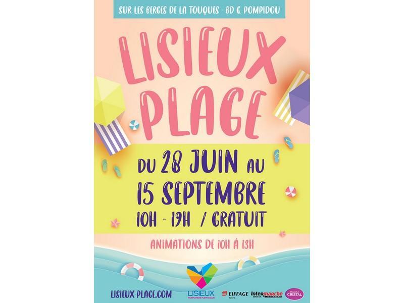 lisieux plage 2021