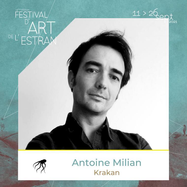 Antoine Milian - Festival d'art de l'Estran
