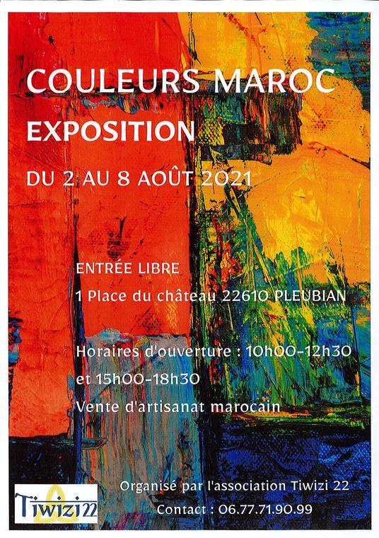 Affiche expo Maroc