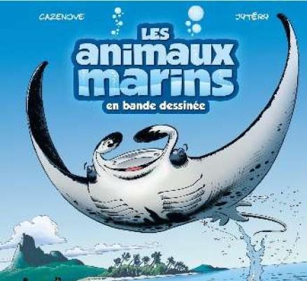 BD les animaux marins en bande dessinée