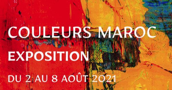 Exposition couleurs Maroc