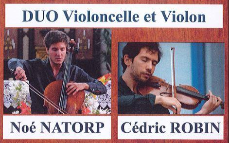 concert violon violoncelle