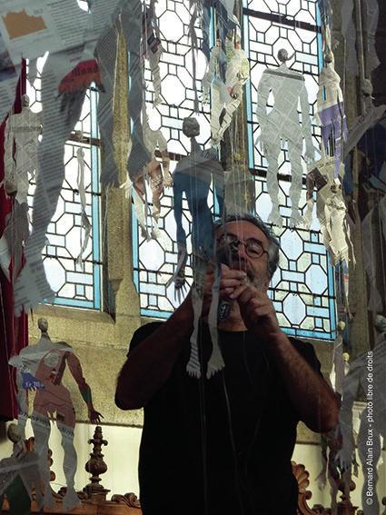 CdC 2020 Expo Plouzélambre Eglise Saint Sylvestre Bernard Alain Brux