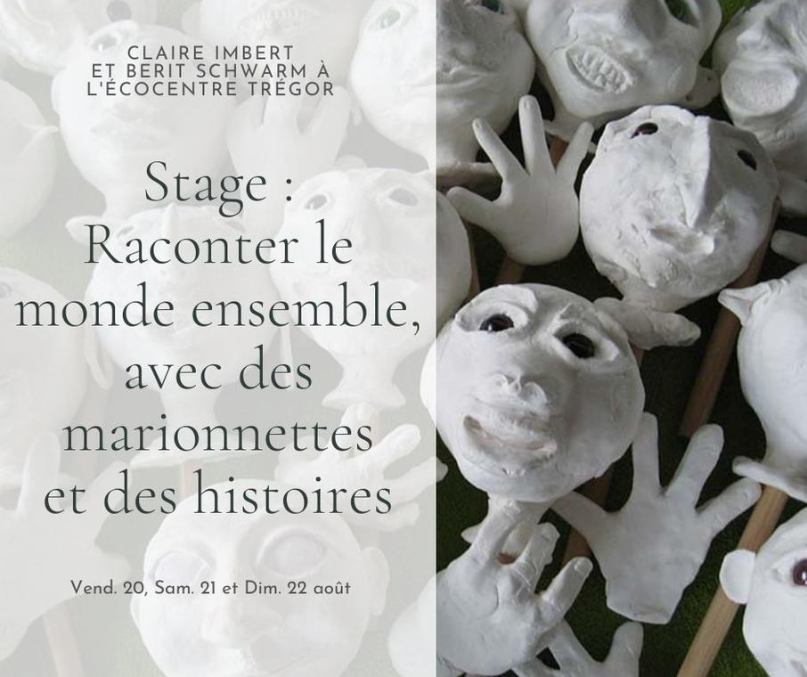 Stage Marionnette et Ecriture