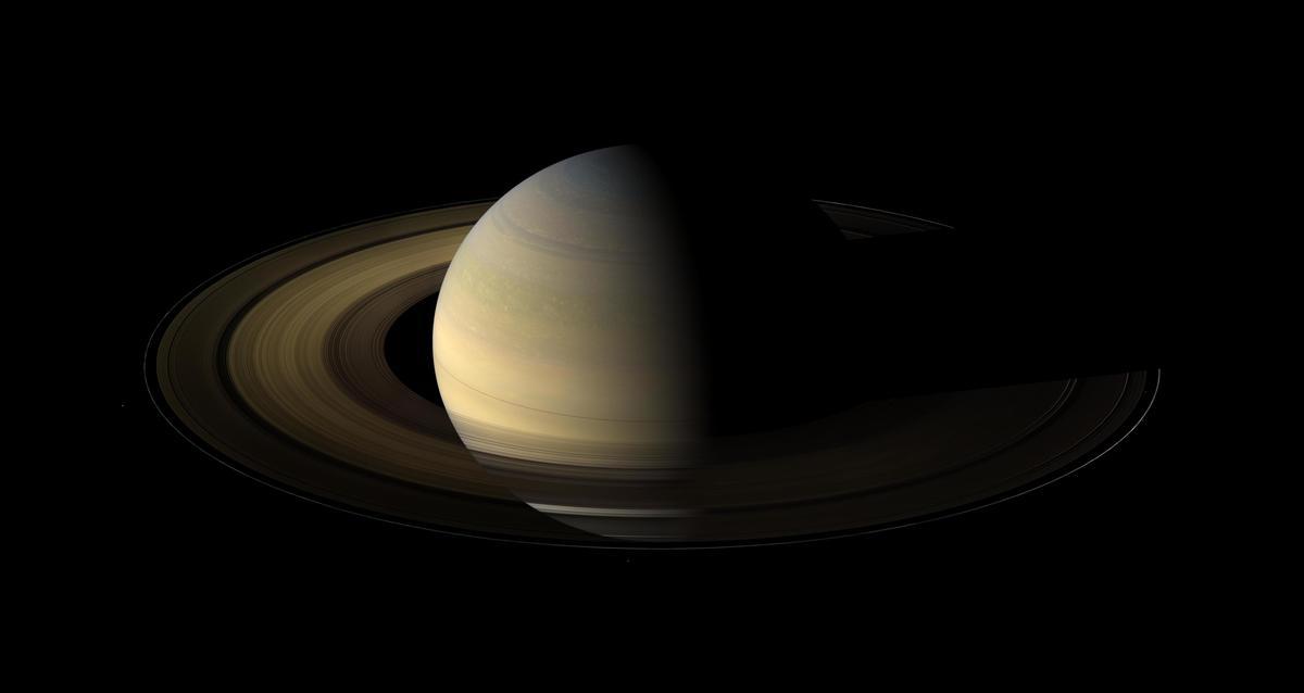 Saturne - credit NASA JPL Space Science Institute