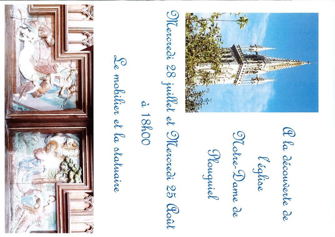 Visite église Plouguiel