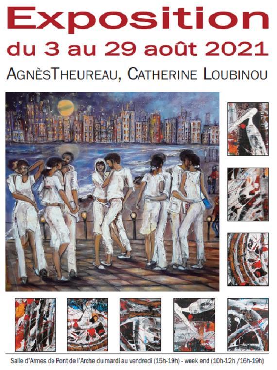 03-08-2021_Exposition Catherine loubinou et Agnès Theureau_Pont-de-l'Arche