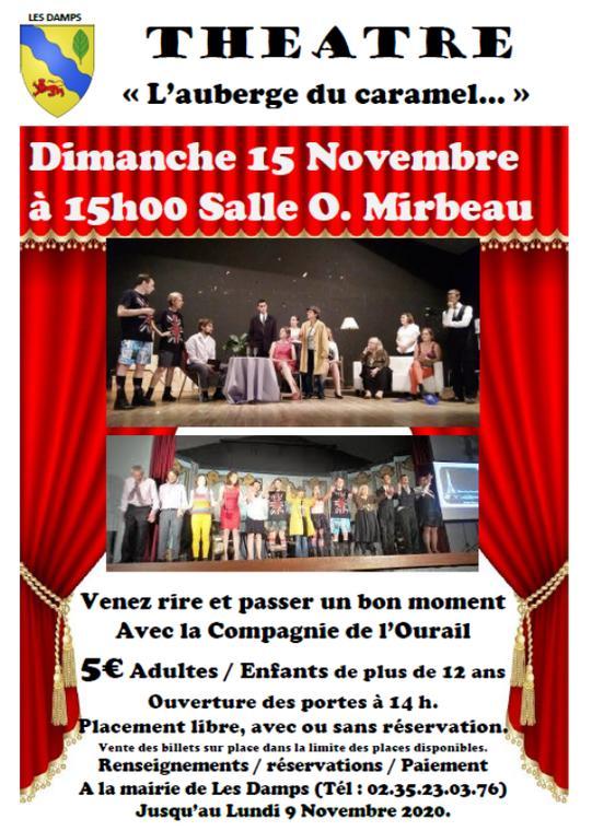 15-11-2020_Théâtre L'auberge du caramel_Les Damps
