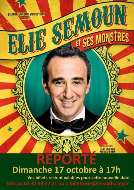 17-10-2021_Spectacle Elie Semoun et ses monstres_Val d'Hazey
