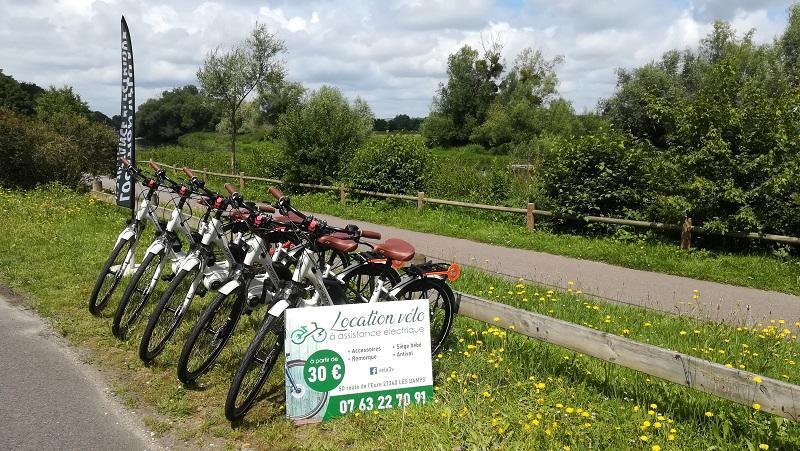 velovoieverte normandie_les damps_location de vélo