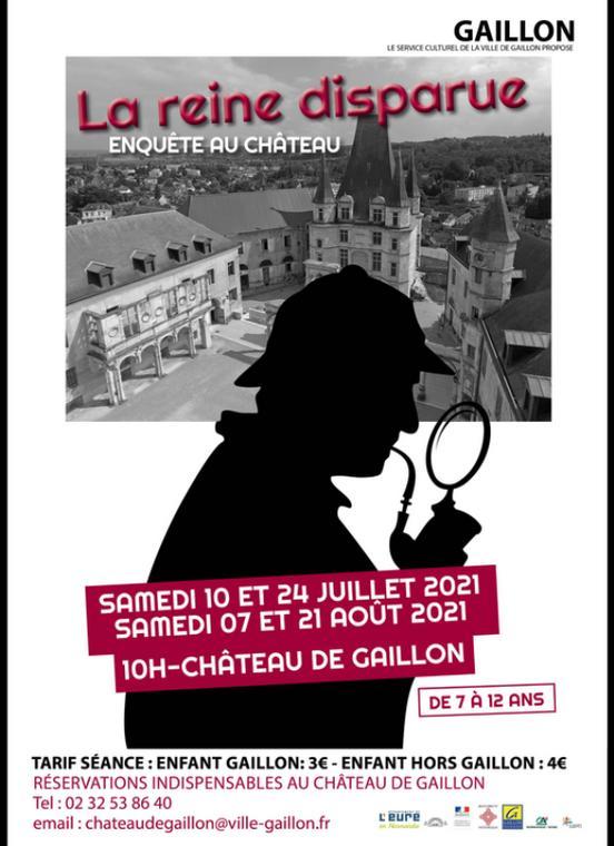 Enquête au Château de Gaillon