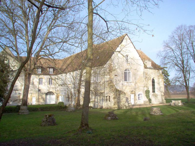 vue sud © Abbaye de Bonport
