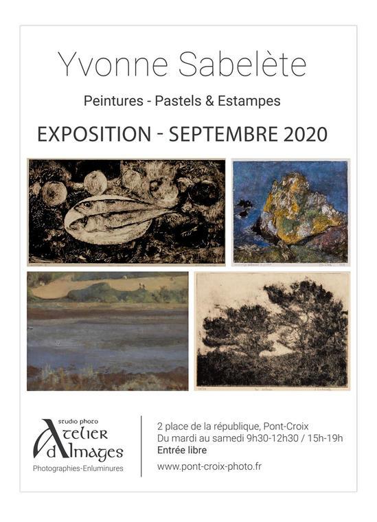 2020_09_pontcroix_exposition_yvonnesabelete_latelierdimages