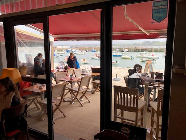A l'abri de rien - port du Rosmeur à Douarnenez - bar - crêperie