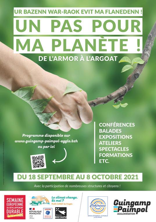 Un pas pour ma planète !