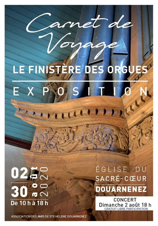 AOU affiche expo concert orgues