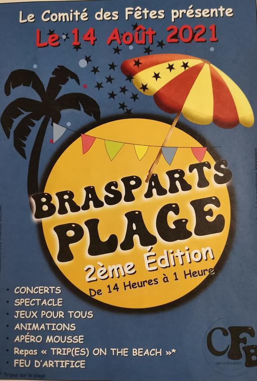 Brasparts Plage 2021