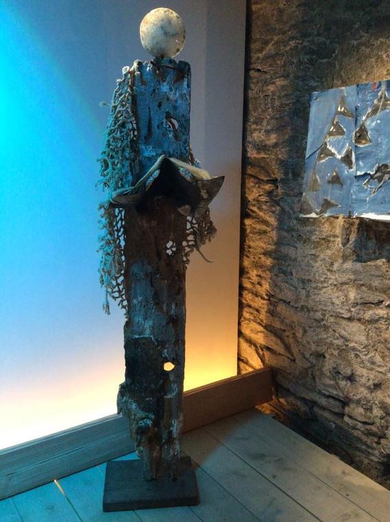 JUL sculpture Fanch Savina