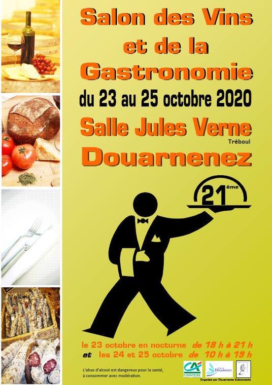 OCT affiche salon des vins et de la gastronomie 2020
