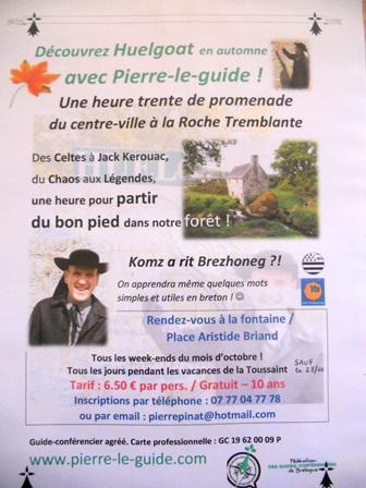 Pierre le Guide en automne