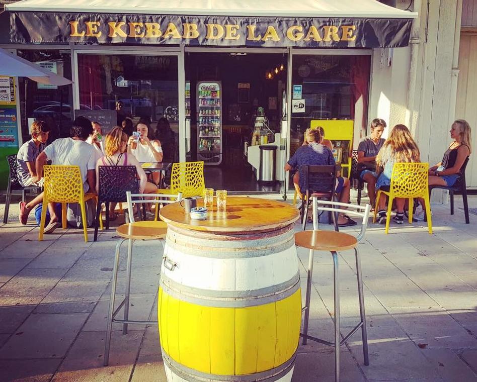 Le Kebab de la gare