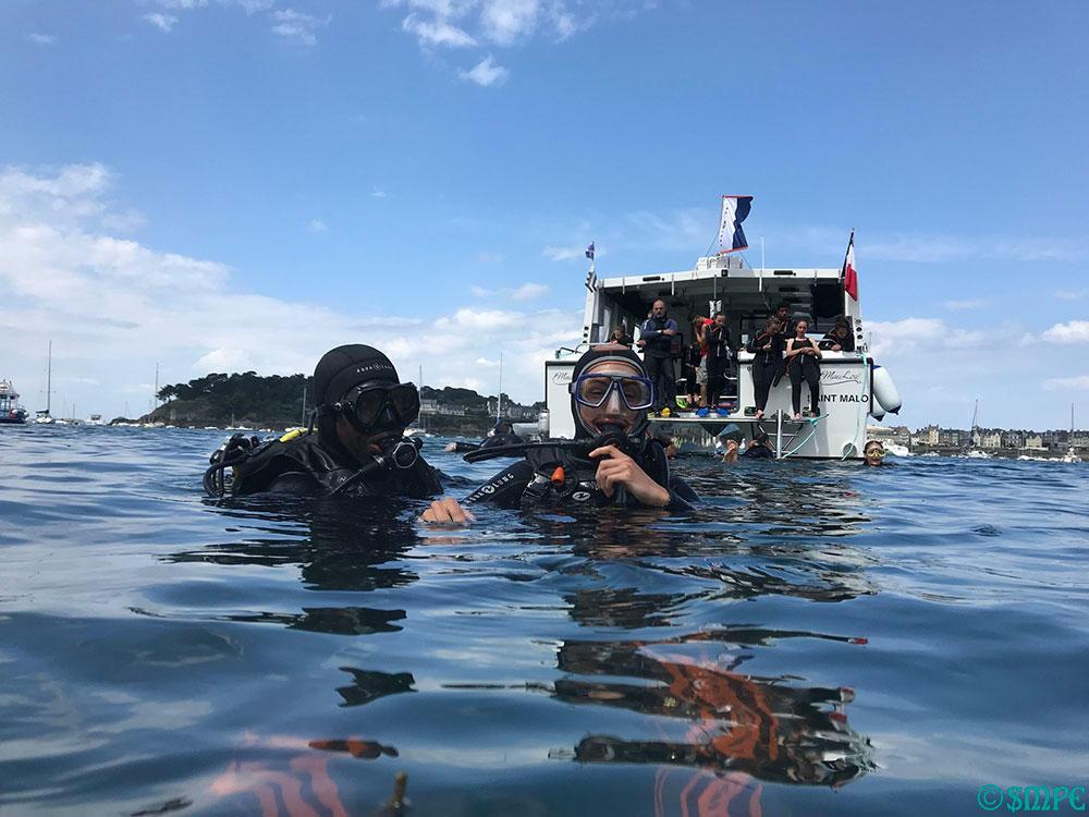 Saint Malo plongée emeraude