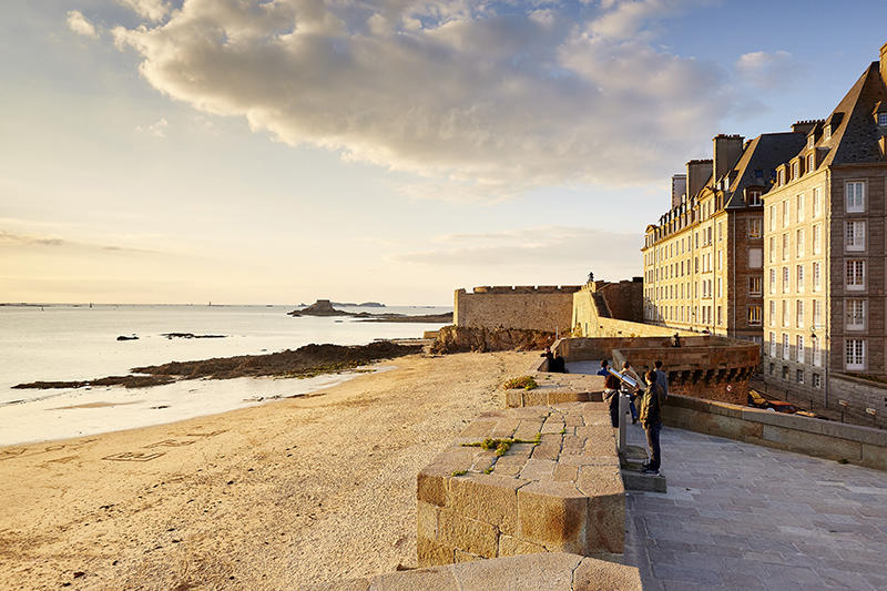 Plage du Môle - Saint-Malo