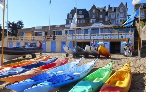 Windschool Dinard - Kayaks