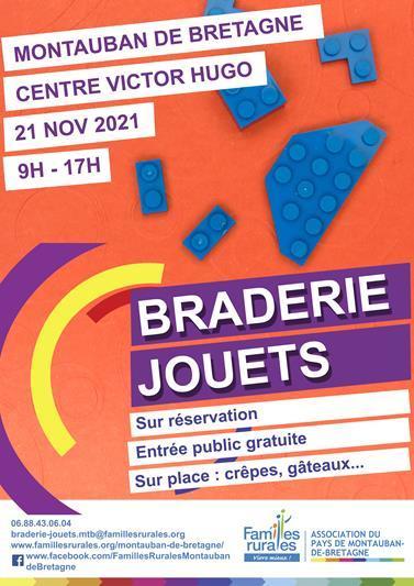 Affiche Braderie Jouets 2021 Montauban