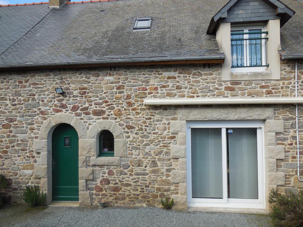 B&B La Lande Grèle - façade - Saint Jouan des Guerets