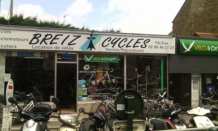 Breiz Cycles devanture