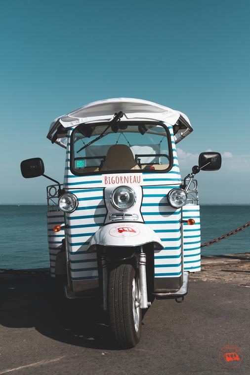 Cancale - Tuk Tuk du Port - Service de transport - navettes