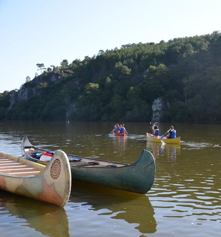 Canoe sur Iles aux Pies©V-Gonzalez