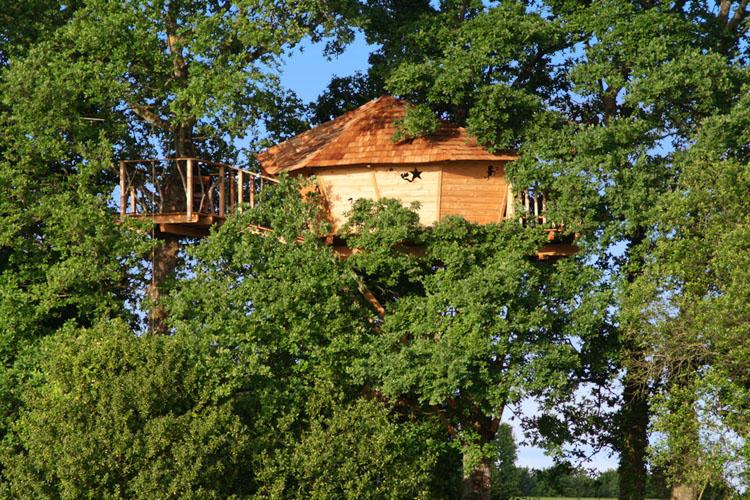 Cabane des Lucioles - Manoir de l'Alleu