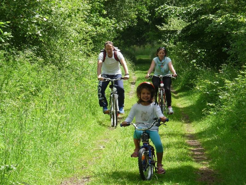 Vélo Promenade® n°6 Aux alentours de Jaunouse - Parcé