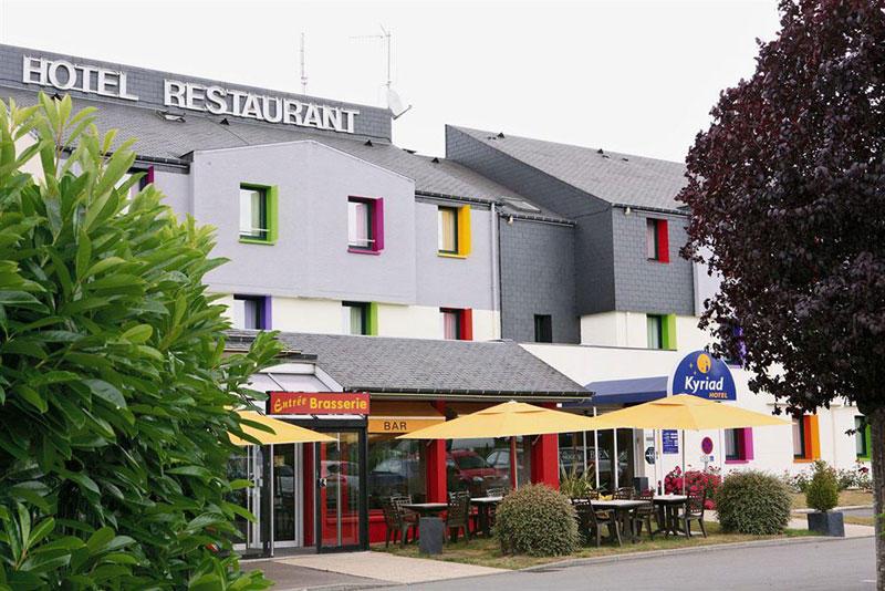 Hôtel-restaurant Kyriad Rennes Sud