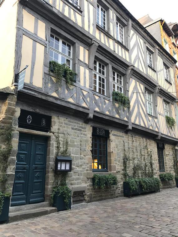 Chambre d'hôtes Marnie et Mister H à Rennes - façade
