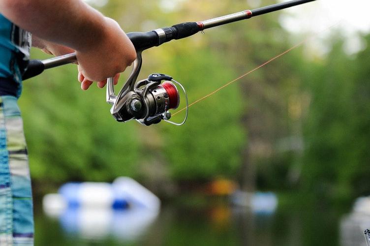 Je pêche mon premier poisson 15mai