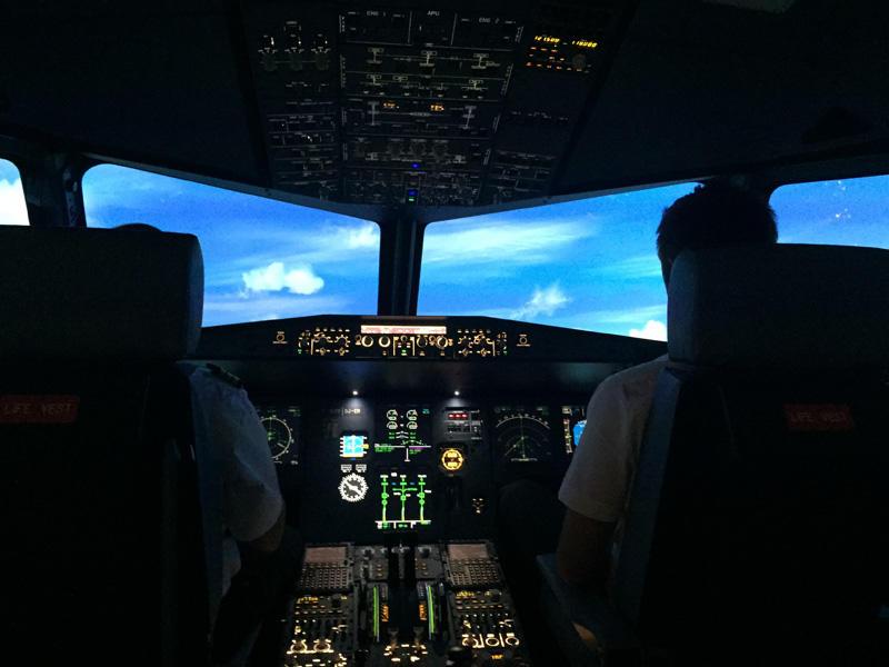 Simulateur de Vol au Rheu