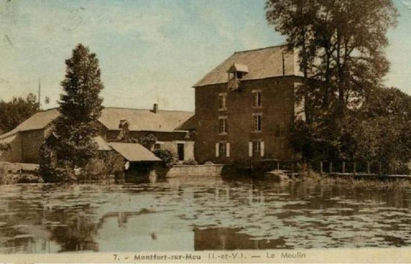 Le moulin des planches à Montfort sur Meu