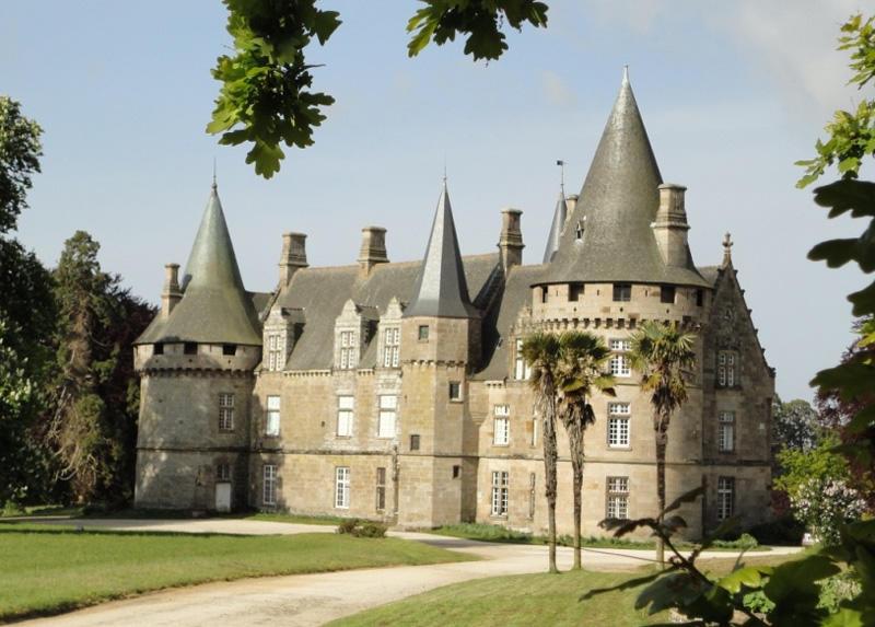 Château de Bonnfontaine à Antrain