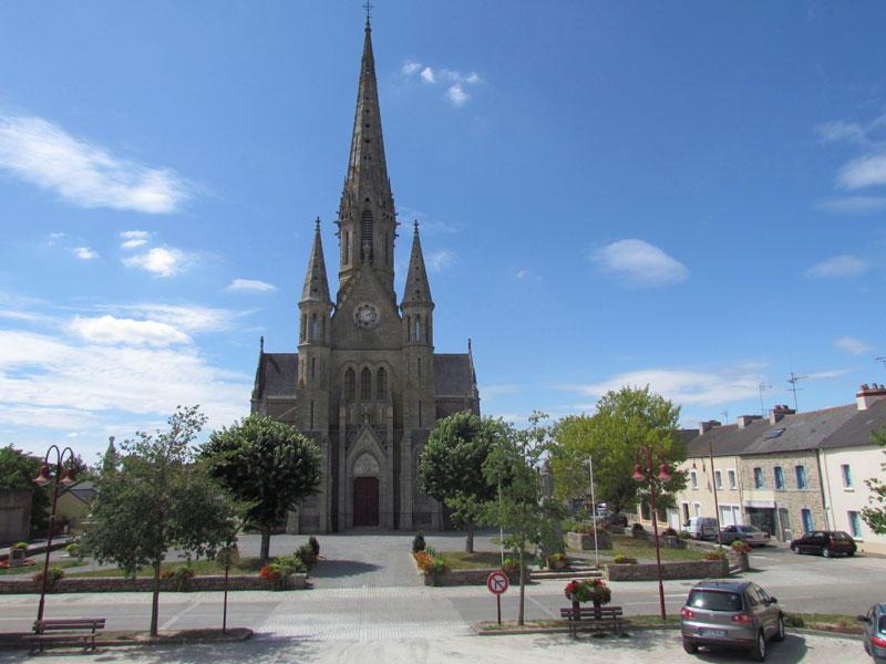 Eglise de Bains-sur-Oust