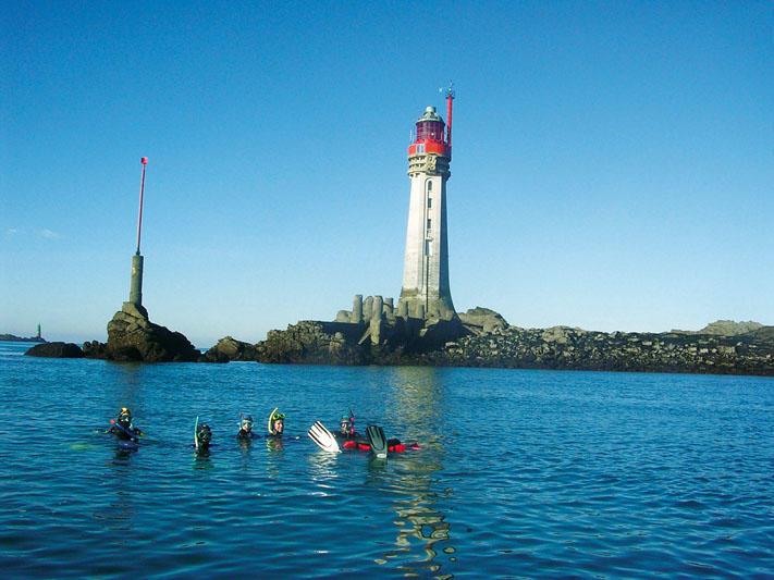Plongée à Saint-Malo