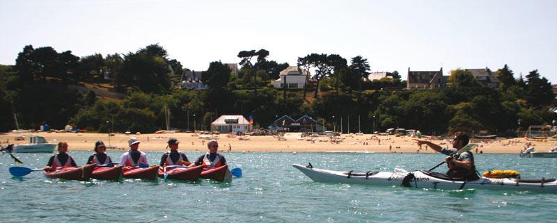 Kayaks à Cancale
