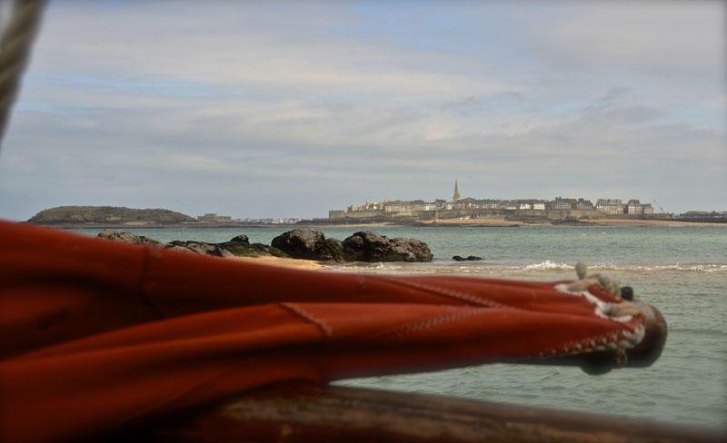 SENSATIONS LITTORAL-vue baie des corsaires-StMalo