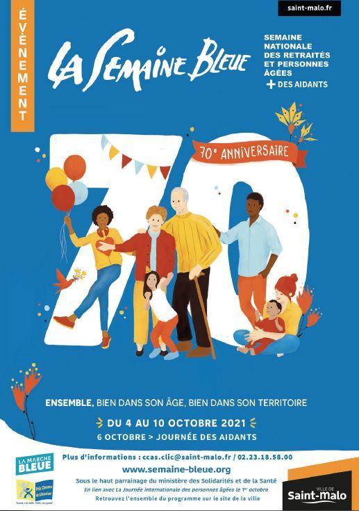 Semaine bleue - Saint-Malo - 2021