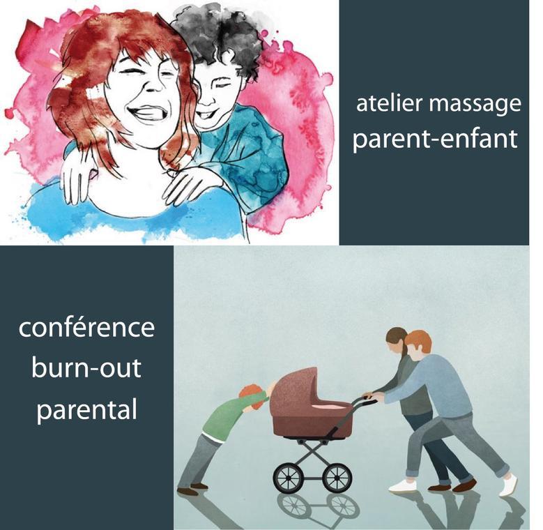 Conférence sur le Burn out parental
