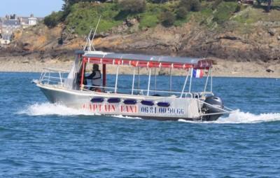 Captain Taxi Dinard - Bateau- Brochure